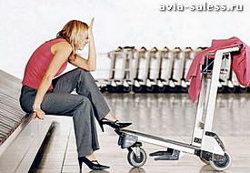 Авиакомпания потеряла багаж