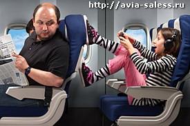 Правила поведения на самолёте