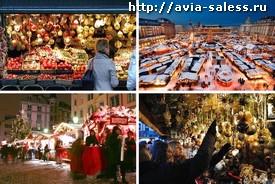 Рожденственские распродажы в Европе