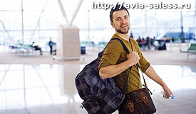 перелет без багажа
